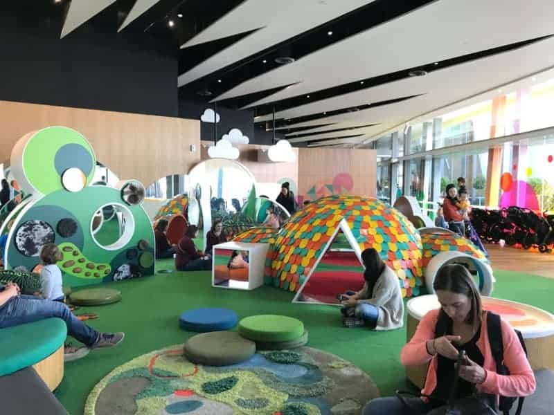 The infant area of the Kids Discovery zone of the Melbourne Museum.