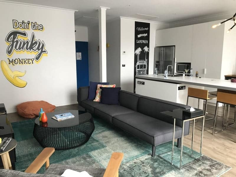 The fantastic layout of the Ovolo penthouse