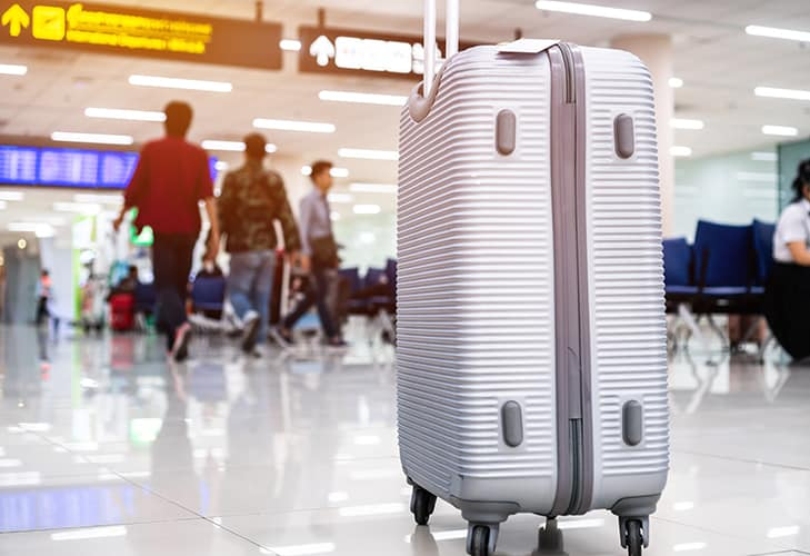 Suitcases At Airport
