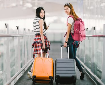 Travelers w/ luggage