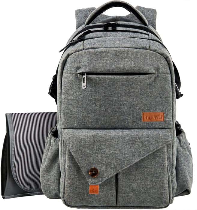 The HapTim is discreet enough to be a dad nappy bag Australia option.
