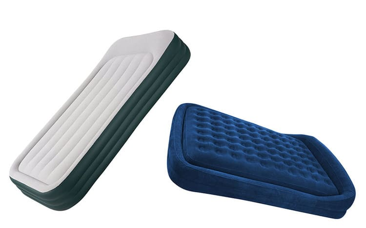 Two Matress Isolated On A White Background