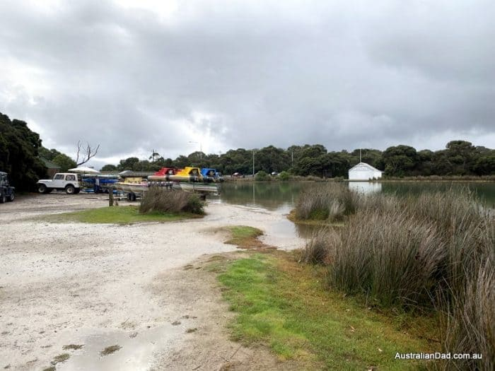 Boat hire by the Anglesea River