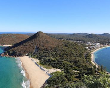 Port Stephens Mount Tomaree, Shoal Bay, NSW