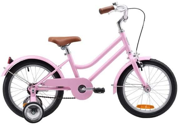 At 10kg this is not the lightest 16 inch bike Australia offers but it is strong and reliable.
