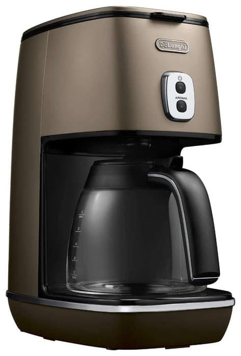 DeLonghi disk Tinta collection drip coffee maker: best domestic coffee machine 2022 and contender for best coffee machine Australia 2022