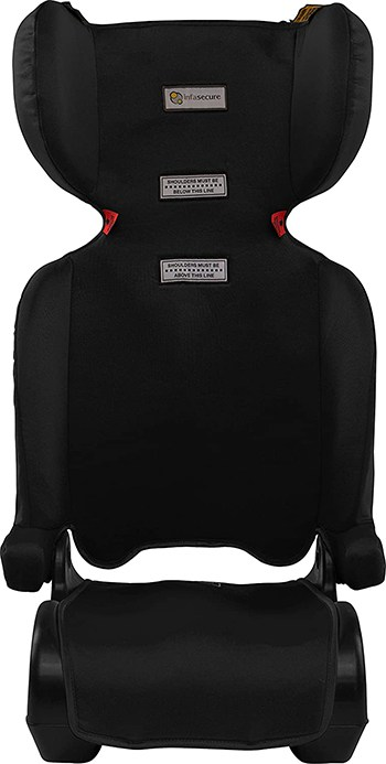 InfaSecure Versatile Folding Booster Car Seat