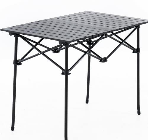 Cleanskin Roll Up Aluminium Camping Table