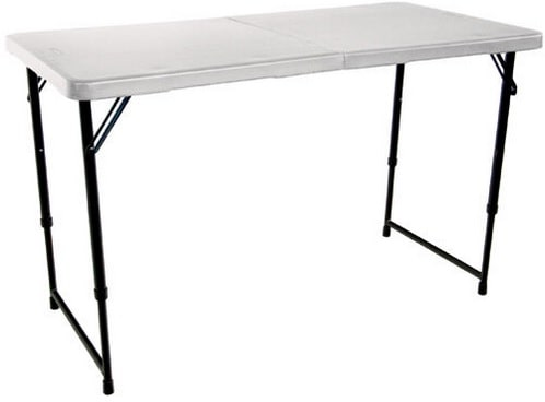 Lifetime 4ft Folding Camping Table