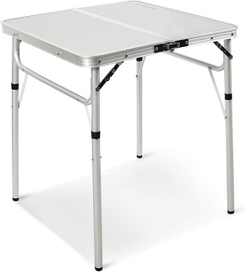 Redcamp Small Folding Camping Table Adjustable Height