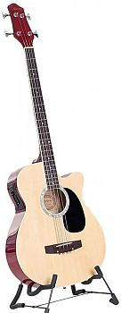 4 String Karrera Acoustic Bass Guitar