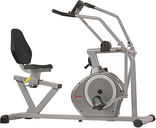 Sunny Health & Fitness SF-RB4708 Magnetic Recumbent Exercise Bike