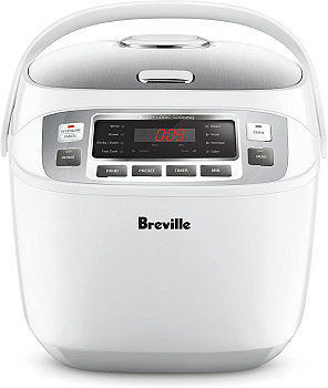 Breville LRC480WHT The Smart Rice Box Cooker